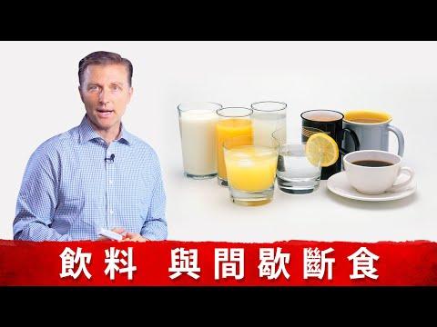 可喝飲料在斷食中, 小心熱量破壞斷食效果.