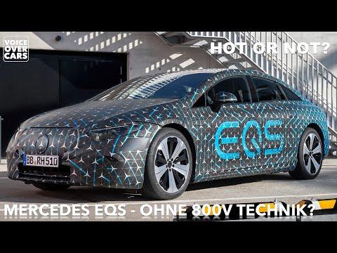 10 Fakten zum 2021 Mercedes Benz EQS? Kein 800V-System? Das Beste oder Nichts? Hot or Not?