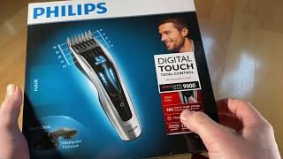 Philips HC9450/20 Haarschneider Series 9000 mit 400 Längeneinstellungen digital unboxing + Anleitung