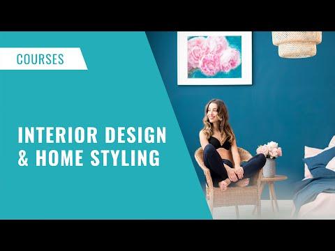 Interior Design & Home Styling Online Course #interiordesign ...