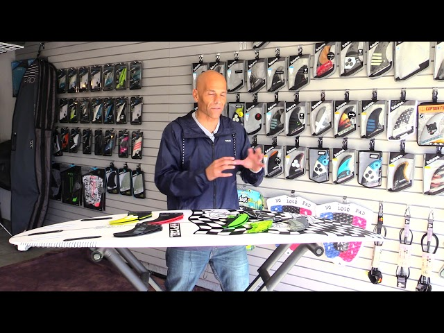 "Surf n' Show ""Quick Tips"" choosing the right surfboard fin size Vlog Ep. 8"