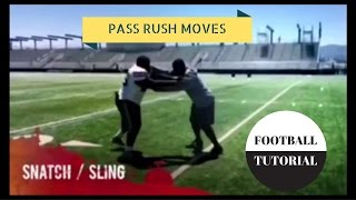 Pass Rush Moves – SNATCH/SLING – American Football Tutorial – Defensive Line Drills