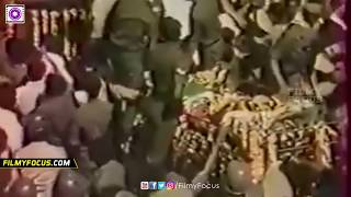 Jayalalitha Pushed Away From Mgr Funeral Car 1987  Very Emotional & Shocking One Amma