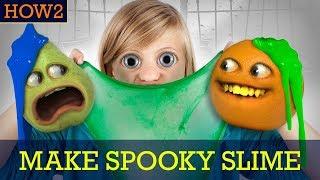 HOW2: How to Make Spooky Slime!