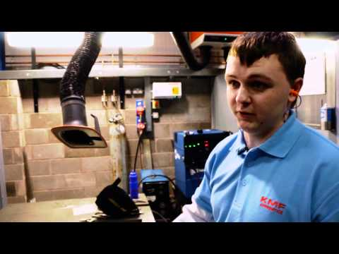 KMF Precision Sheet Metal apprentice Sam Dutton stars in EAL's 'How to make it in industry'