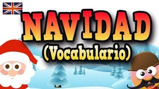 VOCABULARIO DE NAVIDAD  - APRENDE INGLÉS CON MR PEA   - ENGLISH FOR KIDS