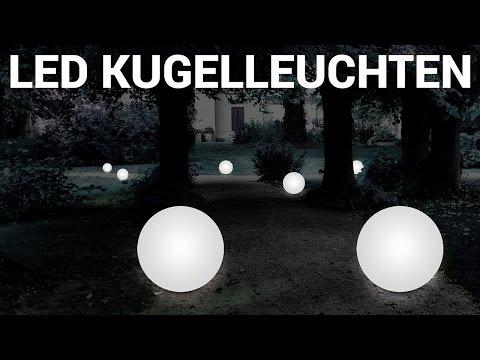 Kugelleuchten Garten ++ LED Kugellampen ++ Drinnen und Draußen