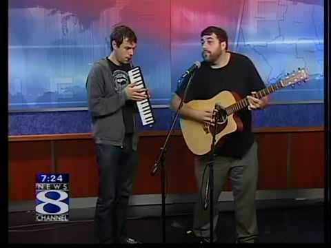 Ceschi Ramos & Max Heath of Anonymous Inc. Play Frank Propose live on News Channel 8