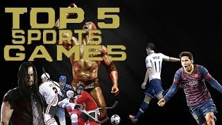 Top 5 Best Sports Games of 2013 [HD]