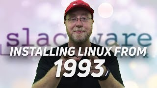 Installing Linux from 1993 in 2018