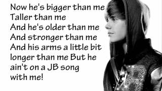 Justin Bieber   Never Say Never   Lyrics