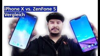 Sieht aus wie Apple: iPhone X vs Asus ZenFone 5 Vergleich (deutsch HD)