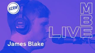 """James Blake performing """"Barefoot In The Park"""" live on KCRW"""