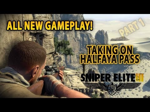 Mise Halfaya Pass z akce Sniper Elite 3 na videu