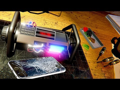 Cell Phone Hacking and Repair Simulator - Electrix Electro Mechanic Simulator Demo