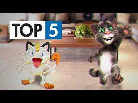 TOP 5 - Nejlepších koček ve hrách