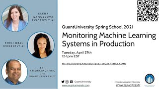Monitoring Machine Learning Systems in Production