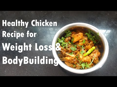 Video Easy Chicken Recipe for Weight Loss & Bodybuilding