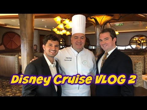 Formal Night at Sea | Captain's Reception | Remy Brunch Surprise? | Disney Cruise VLOG 2