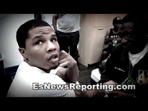 Epic Vid The First Day Gervonta Davis Walked Into Mayweather Gym With Adrien Broner - Esnews Boxing