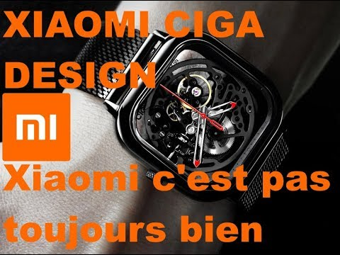 Test Montre Xiaomi Ciga