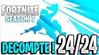 🔴LIVE FORTNITE SAISON 7 - COMPTE A REBOURS - Combien de temps reste-t-il ? [FR/PC/PS4/FACECAM]