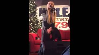 Danielle Bradbery  Daughter of a Workin' Man  KMLE Country 107.9  12/12/2013  Tempe Marketplace 1