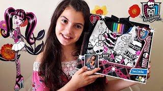 Karne Hediyem Monster High Kendi Çantanı Kendin Yap !