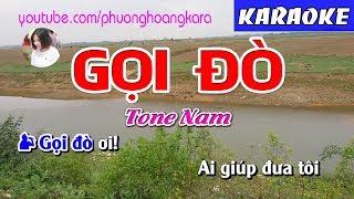 karaoke-nhac-song-goi-do-beat-chuan-tone-nam-phuong-hoang-kara