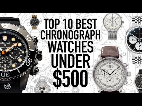 Top 10 Best Value Chronograph Watches Under $500 - Seiko, Citizen, Bulova, Dan Henry, UNDONE & More