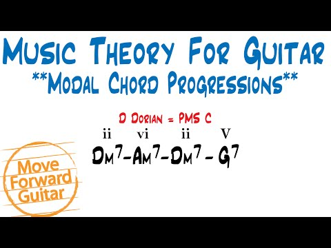 Music Theory for Guitar - Modal Chord Progressions