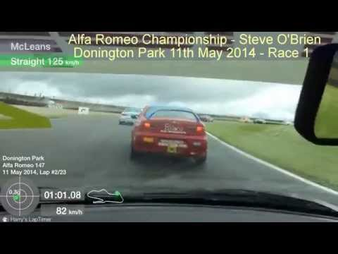Donington Park 2014 – Race 1 – Steve O'Brien
