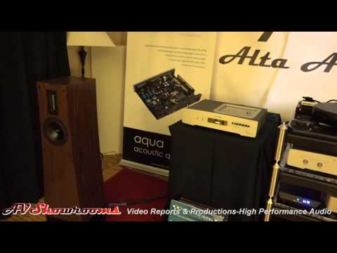 Alta Audio Rhea loudspeakers, $4500, Aqua Acoustic Quality, RMAF