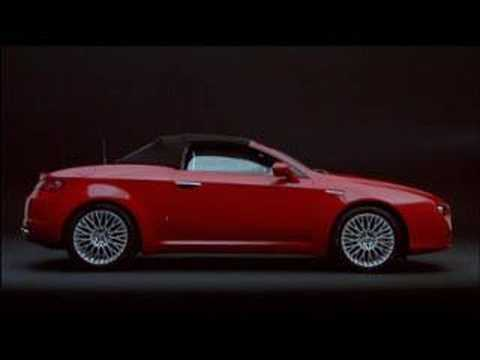 New Alfa Romeo Spider promotional video