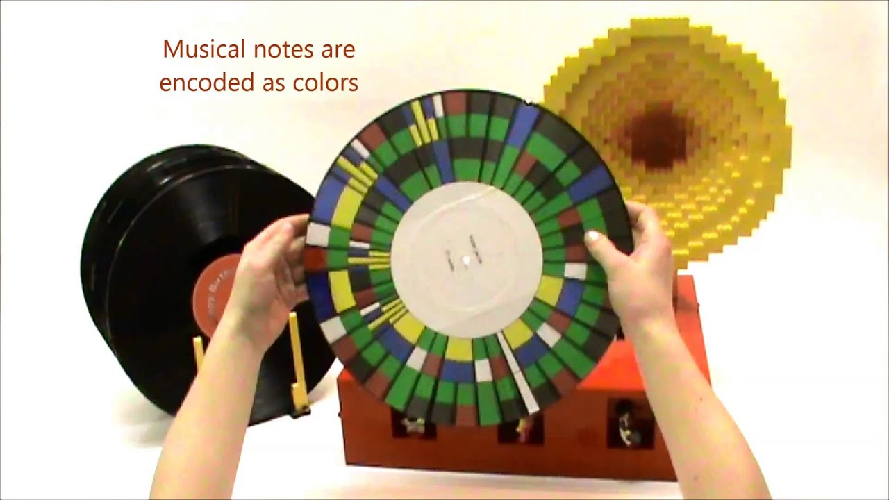 Lego Record Player Made Is Half Bricks And Half Pure Awesome