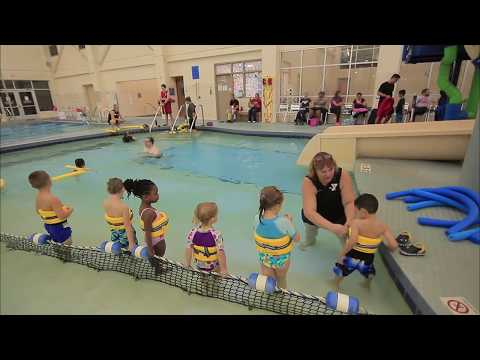 Preschool swim class @ THE YMCA - Pike (Teach your kids how to swim!)