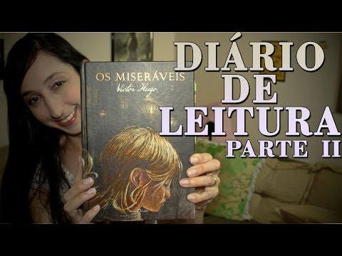 DIÁRIO DE LEITURA OS MISERÁVEIS PARTE 2 - COSETTE | Alegria Literária