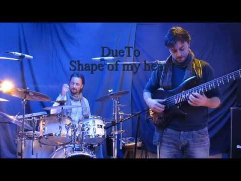 Shape of my heart (Sting/D. Miller) Bass- Drum Version