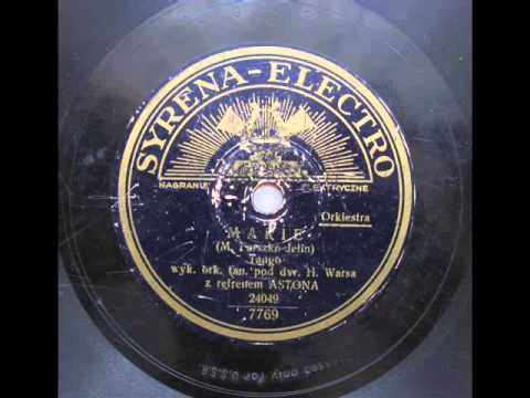 Adam Aston - Marie (Tango), 1933