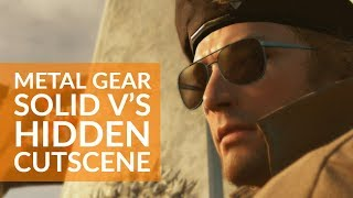 Metal Gear Solid V's nuclear disarmament cutscene