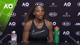Serena Williams puts journalist in his place  | Australian Open 2017