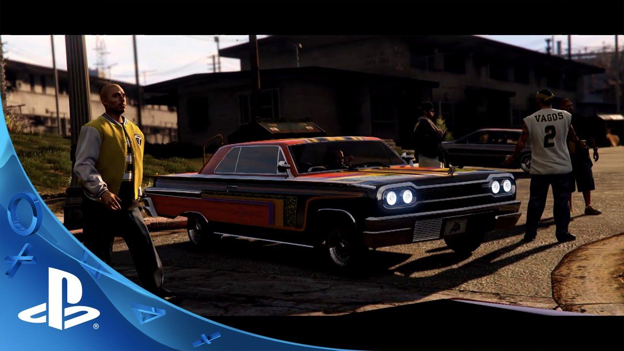GTA Online: Lowriders Coming October 20th