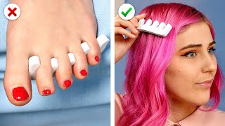 GIRLY HAIRSTYLES! 9 Clever DIY HAIR HACKS by Crafty Panda