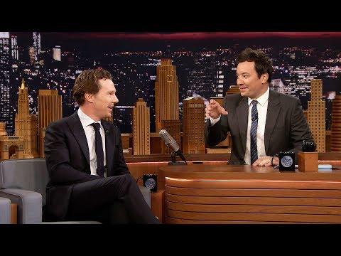 During Commercial Break: Benedict Cumberbatch (видео)