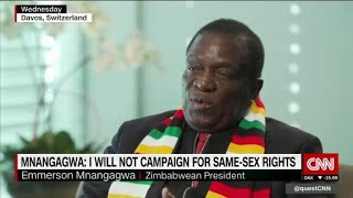 Richard Quest has tough questions for Zimbabwe's new...