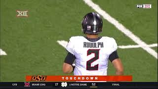 Oklahoma State vs Texas Tech Football Highlights