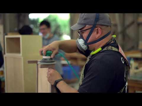 109年全國職場達人盃-木漆花藝類群創作技能競賽-家具創作職類