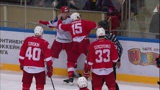 KHL Fight: Potapov VS Art.Sergeyev