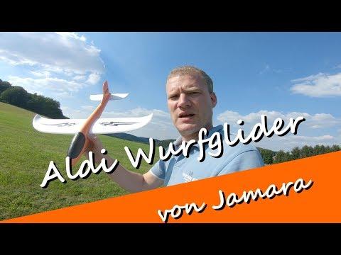 Aldi Wurfgleiter , Minisegler , Glider von Jamara - wie fliegt der Flieger aus der Verpackung?
