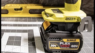 Dewalt to Ryobi battery adaptor